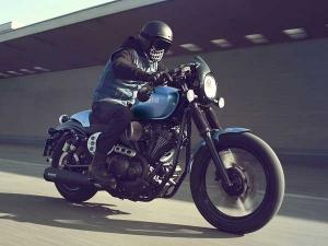 Yamaha Unveils Its XV950 Cafe Racer Motorcycle!