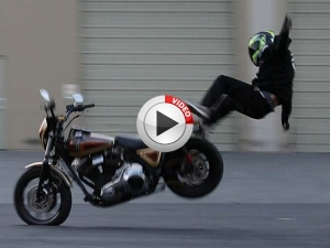 Skills Of A Ninja Required To Perform Wheelie On A Harley