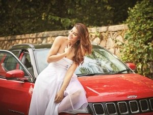 Actor Jacqueline Fernandez's New Ride Is A Jeep Compass SUV