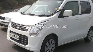 New Maruti Wagon R 2018 Spied Without Camouflage; Features 'Idling Stop' Function