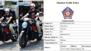 Actor Kunal Khemu Fined For Riding Without Helmet