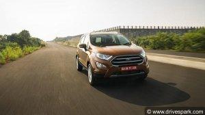 Ford EcoSport Petrol Titanium+ Trim Gets 5-Speed Manual Gearbox