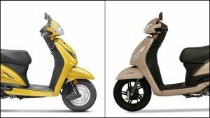 Honda Activa 5G Vs. TVS Jupiter Comparison: Design, Specifications, Features, Price & Mileage