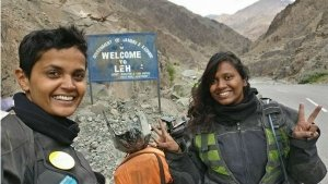 Kanyakumari To Leh In 129 Hours — Two Women, Two Motorcycles And One 4,000 km Journey