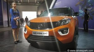 Tata Nexon AMT Bookings Open —  To Be Launched In May 2018