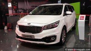 Kia Grand Carnival MPV Spotted Testing In India — To Rival Toyota Innova Crysta