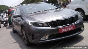 Exclusive: The 2018 Kia Cerato Spotted In India For The First Time — To Rival The Hyundai Verna