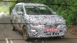 New Renault MPV Based On Kwid Spotted Testing — Launch Details Revealed