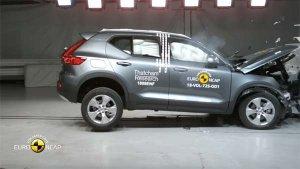 Volvo XC40 Euro NCAP Crash Test Results Revealed