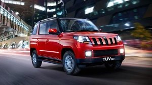 Mahindra TUV 300 Facelift In The Works — Will Come With A BS-VI-Compliant Engine