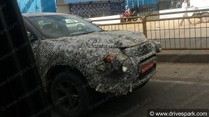 Exclusive: Tata Harrier SUV Spied Testing Again In Bangalore