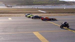 Drag Race: Kawasaki Ninja H2R Vs F1 Car Vs F-16 Fighter Jet — Place Your Bets!