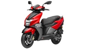 TVS Ntorq 125 Hits One Lakh Sales Milestone — New Metallic Red Shade Introduced