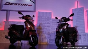 Hero Destini 125 Launched In India; Prices Start At Rs 54,650