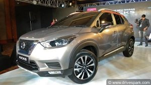 Nissan Kicks Unveiled In India — Launch In 2019