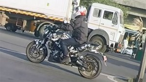 New Bajaj Dominar (2019) Spy Pics Out Once Again: Lots Of Camouflage! Lots Of Change?
