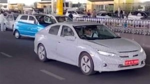 New Honda Civic (India) Spy Pics Out — One Of The Greatest Sedan Comebacks In India