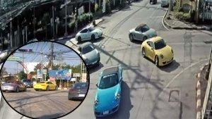 Porsche Convoy Blocks Traffic In Thailand — Video Shows 32 Porsches Jumping Red Light In Thailand