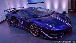 Lamborghini Aventador SVJ Launched In India