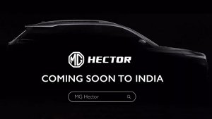 MG Hector New Video Teaser Released — 'The Future Of Cars'