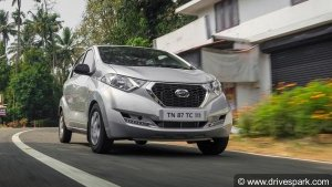 2019 Datsun Redi-GO Launched In India — ABS With EBD Is A Standard Feature