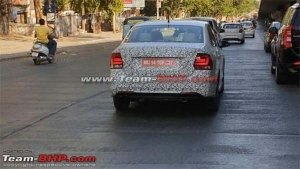 New Volkswagen Vento Spied Testing — India-Launch Expected Soon