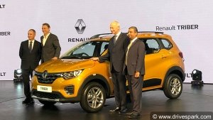 Renault Triber MPV Unveiled In India For Global Markets — Premium MPV On A Budget?