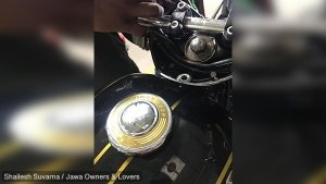 Brand New Jawa Motorcycle Shows Rust On Wheel Rim And Exhaust: Customer Takes To Social Media