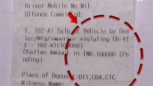 Fine For Riding Without Registration: Honda Activa Rider Asked To Pay Rs 1 Lakh In Fines