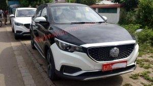 MG eZS SUV Spied Testing Ahead Of Launch In India: Will Rival Hyundai Kona EV