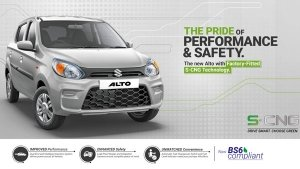 Maruti Suzuki Alto BS6 CNG Model Launched In India Starting At Rs 4.33 Lakh Ex-Showroom