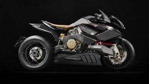 Vyrus Alyen Superbike Powered By Ducati Engine Revealed: Next Batman Motorcycle?