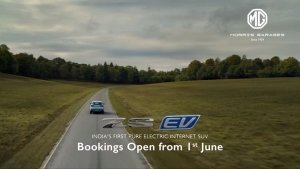 MG ZS EV Bookings To Reopen On June 1: Will Be Introduced In Six New Cities