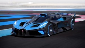 Bugatti Bolide Hypercar Unveiled: The 1824bhp Track Monster From France