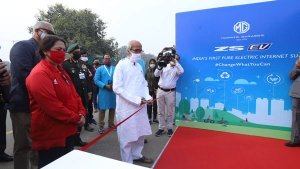 MG Installs 60kW EV Fast Charger In Agra: Available For Public Use