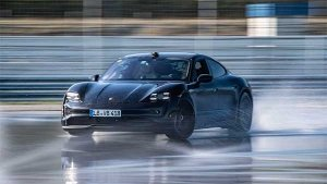 Porsche Taycan Creates New Drifting World Record: Longest Drift In An Electric Vehicle