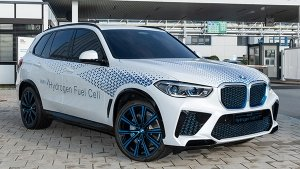 BMW X5 Hydrogen Fuel Cell Vehicle To Be Launched In 2022