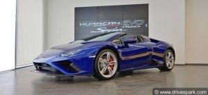 In Pictures: Lamborghini Huracan Evo RWD Spyder — Exotic Top-Down Drive