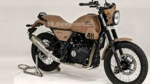 Royal Enfield Himalayan 411 On-Road Biased Model Design Leaked: Could It Be The Scram?