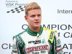 Mick Schumacher Seen Testing A Formula 4 Car