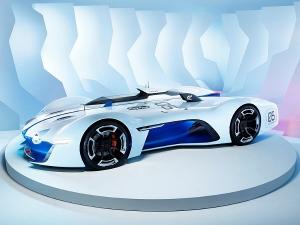Renault Unveil Alpine Vision Gran Turismo