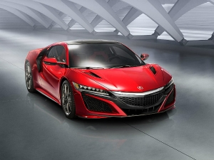 Honda NSX Makes European Debut