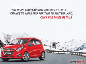 Test Drive A Chevrolet & Win A Trip To Switzerland