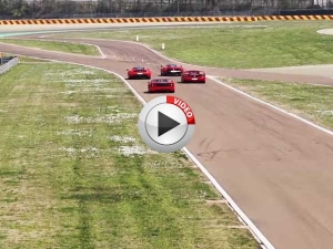 Lapping Fiorano With 4 Best Ferrari's Ever Made
