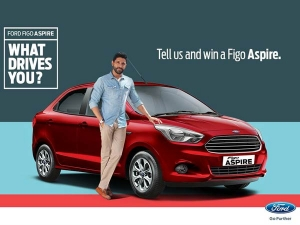 Are You Ready To Win Ford's Figo Aspire For Free?