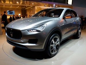 Maserati Luxury Crossover Levante To Debut In Detroit!