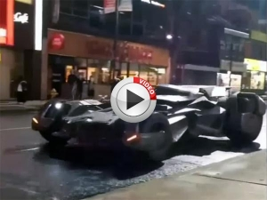 Video: New Batmobile In Action On Suicide Squad Set!
