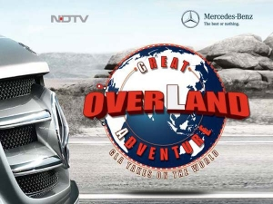 Mercedes GLA 200 CDI In 'Great overLand Adventure'!