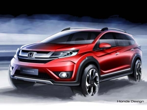 Honda BR-V Compact SUV Revealed Prior To Launch!
