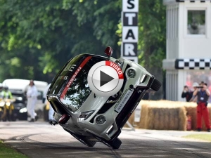 Video: Nissan Juke Nismo RS Hillclimb On Two-Wheels!